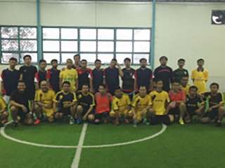 Futsal Friendly Match, PT. Bina Pertiwi VS PT. Sinar Sosro